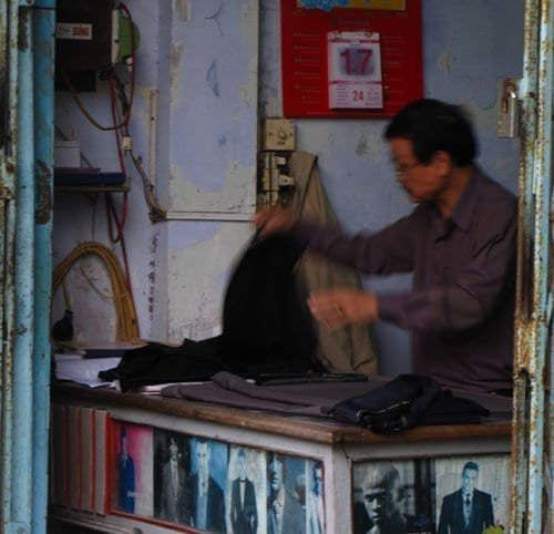 small tailors shop in hoi an