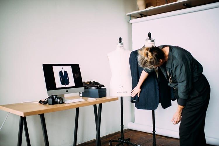 Styling process, Minneapolis, men's designer clothes