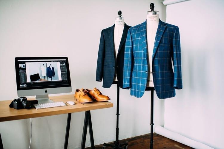 Inside Menswear Market studio, Minneapolis MN
