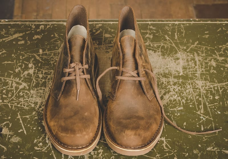 why we love clarks desert boots chukkas
