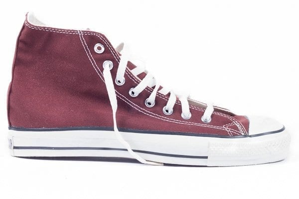 american made all stars in chestnut canvas cotton