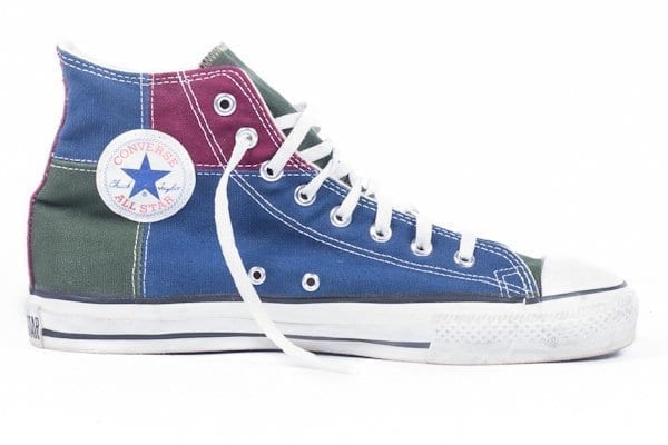 multi colored chuck taylors