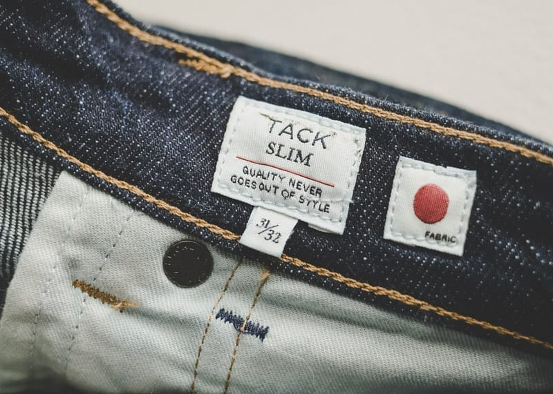 tack slim by levis made crafted