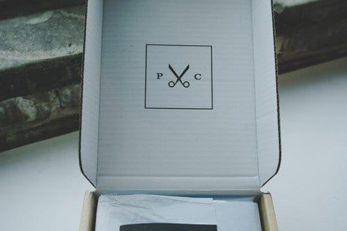 box with custom shirts inside, by proper cloth, reviewed