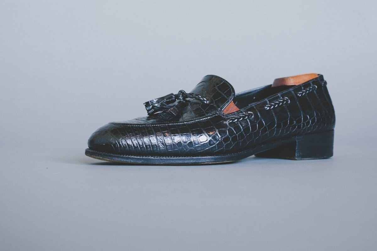 Genuine Alligator Shoes from John Lobb London Bespoke