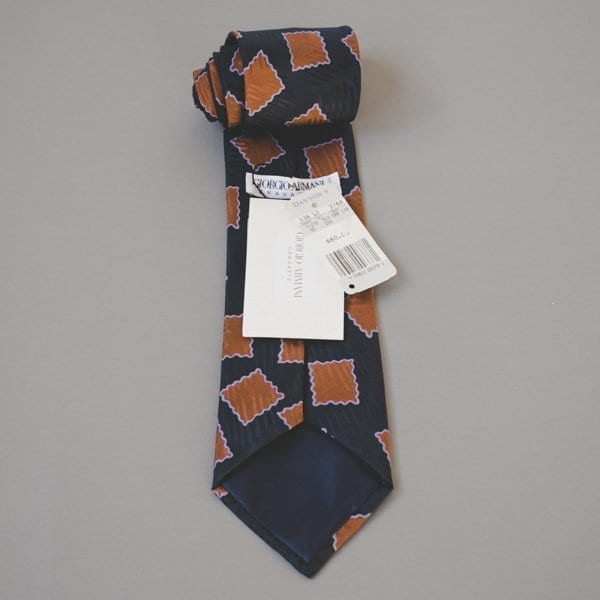 Old stock, new tie from Armani