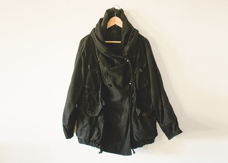 black kapital ring coat mens