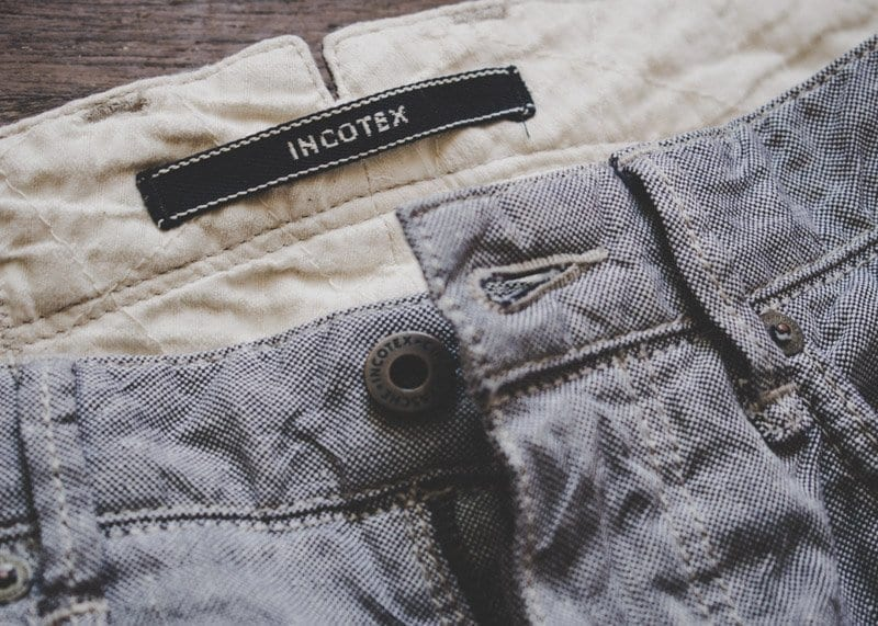 Incotex sky slim pants review