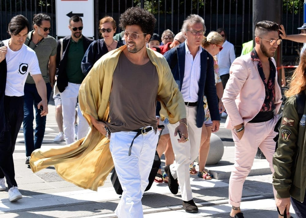 Casual, Pitti Uomo, Florence, Street Style Photo