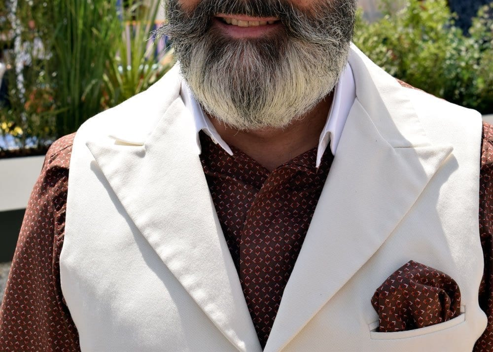 Beard, Pitti Uomo, June 2018, Florence