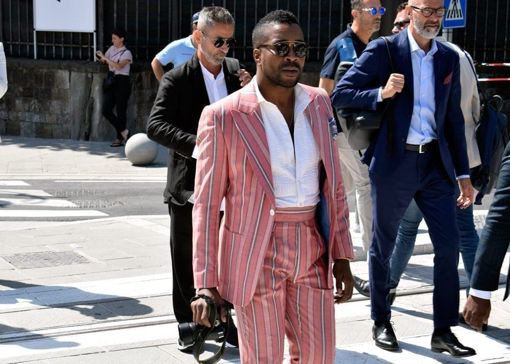 Suits, Pitti 94, Firenze, Street Style Photos