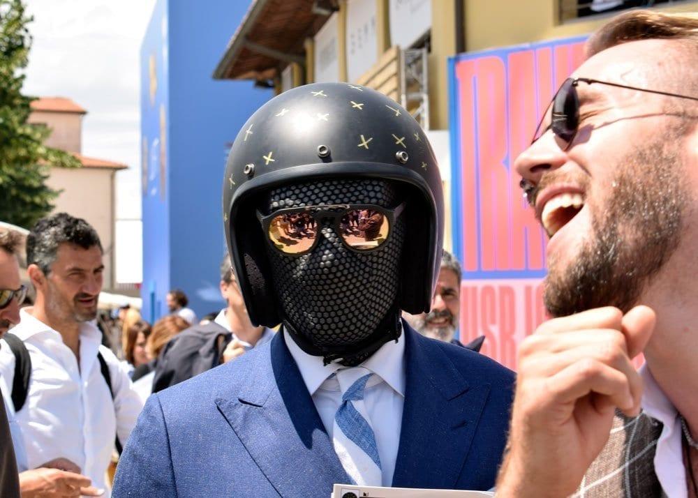 Mask, Pitti Uomo 2018