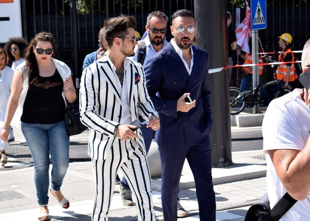 Men in Suits, Pitti 94, Firenze, Street Style Photos, Robin Thicke