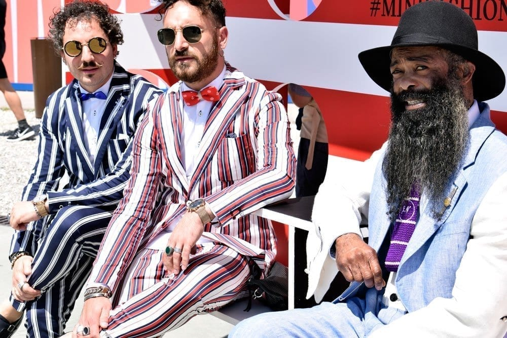 Group of 3, Pitti Uomo