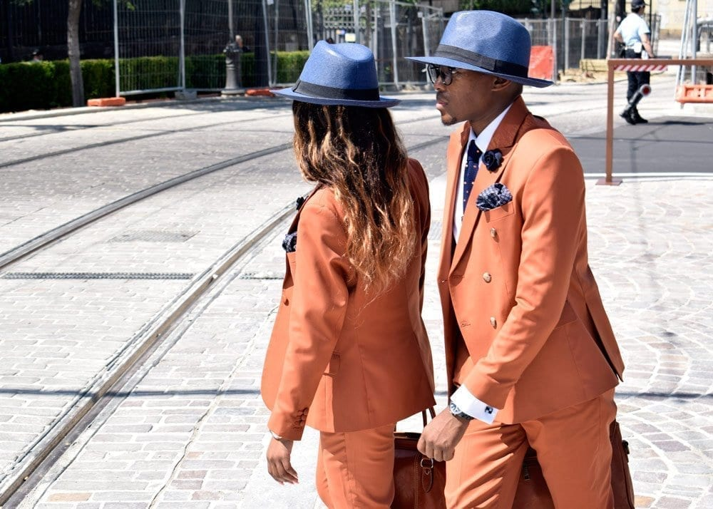 Orange Suits, Pitti Uomo, 2018