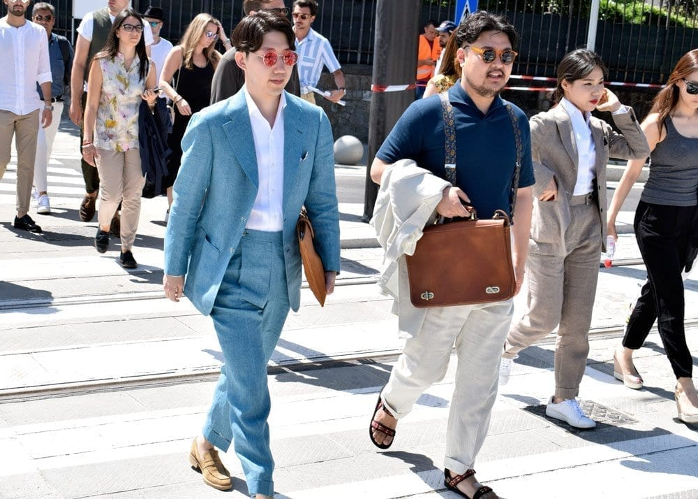 Suits, Pittio Uomo, Street Style Photo