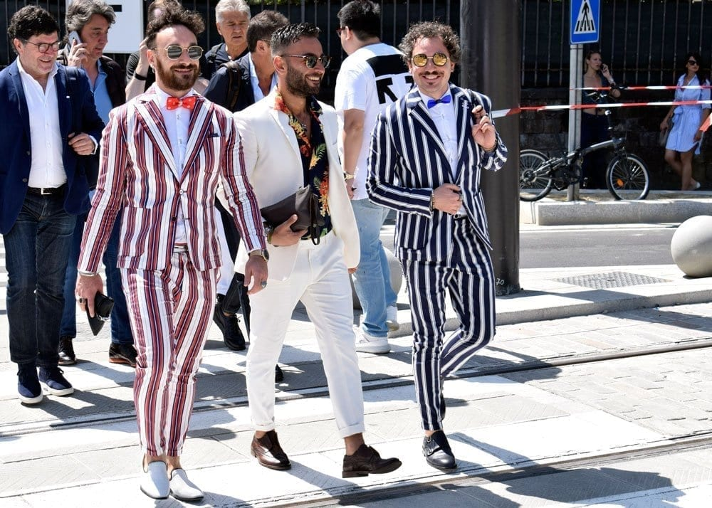 Bold Stripes, Pitti Uomo 94