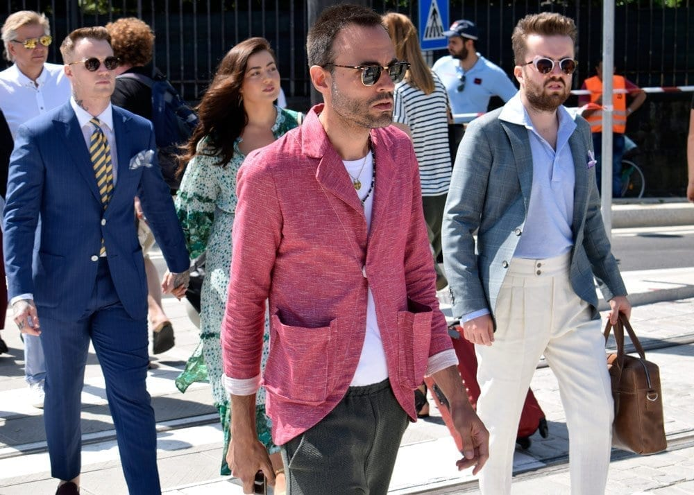 Unstructured Jackets, Pitti 2018