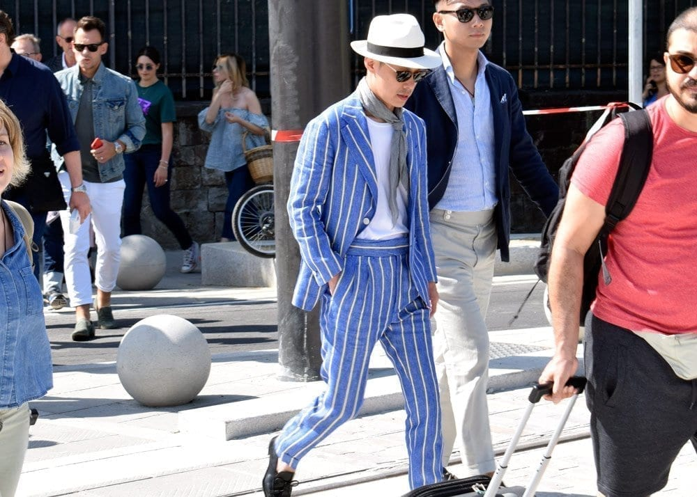 Men in Suits, Pitti 94, Firenze, Street Style Photos