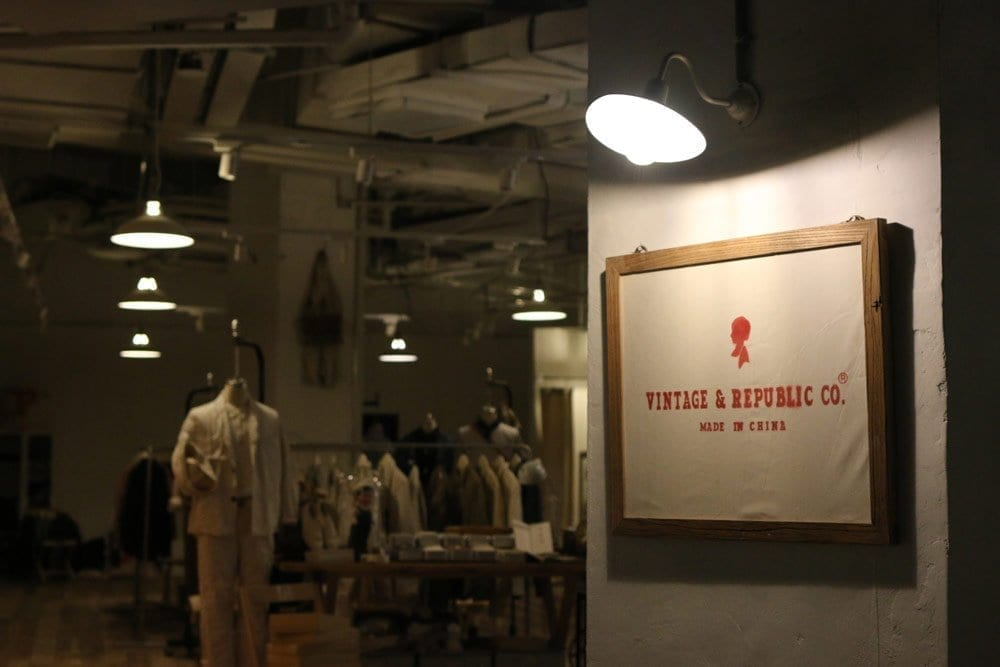 Shanghai Vintage and Republic store