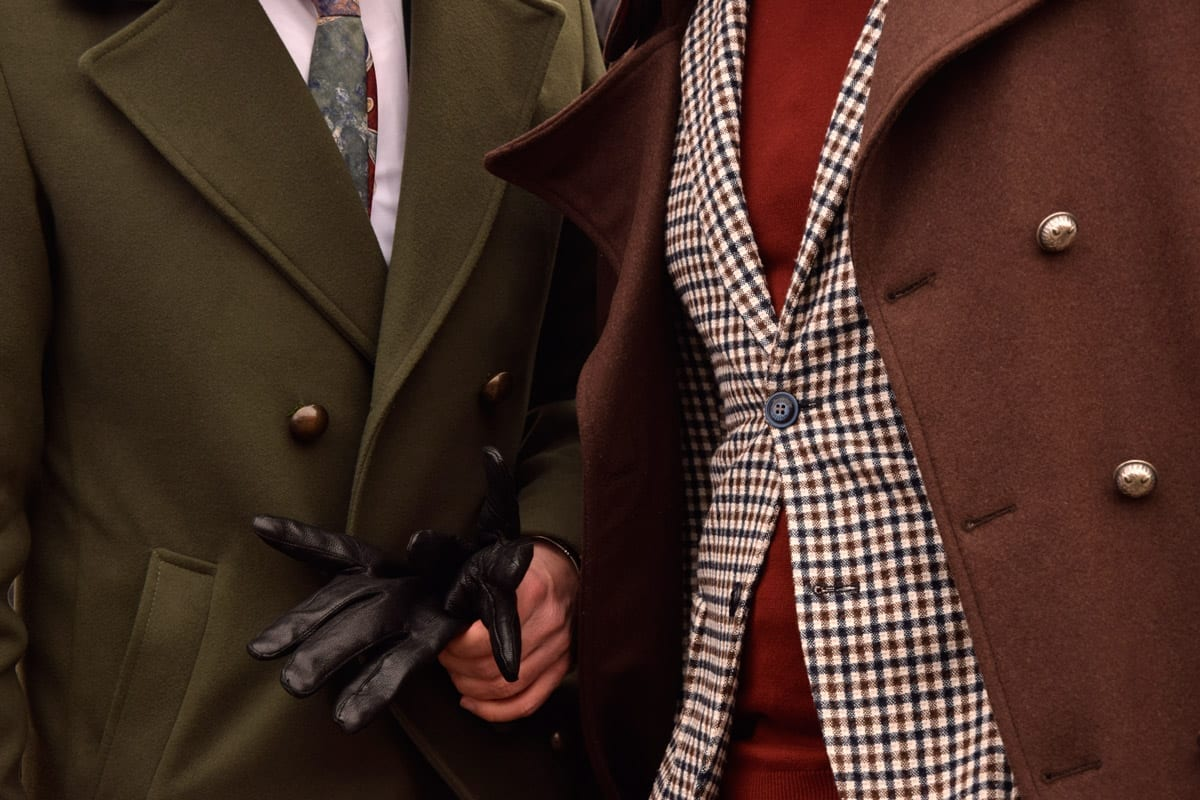 Winter Looks from Pitti Uomo men 2019
