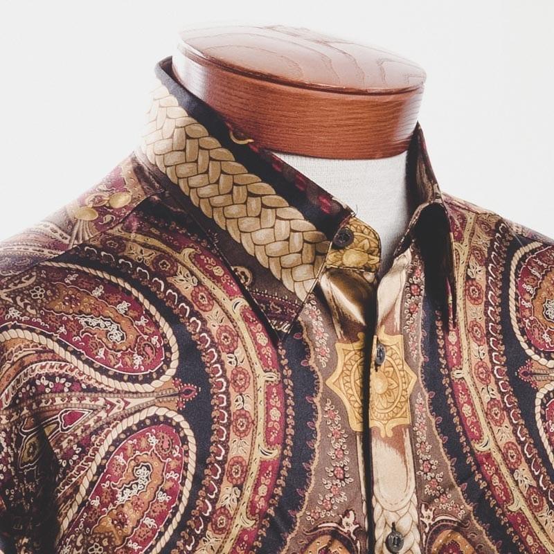 paisley shirt, Bijan
