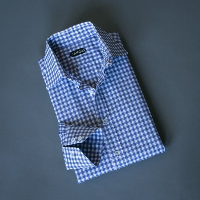 checked shirt, tom ford