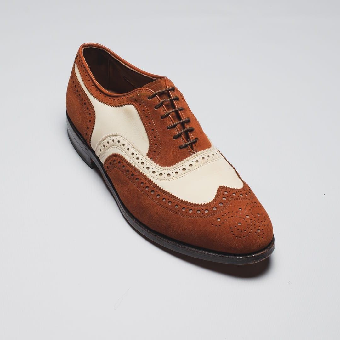 broadstreet spectator wingtip shoes by allen edmonds